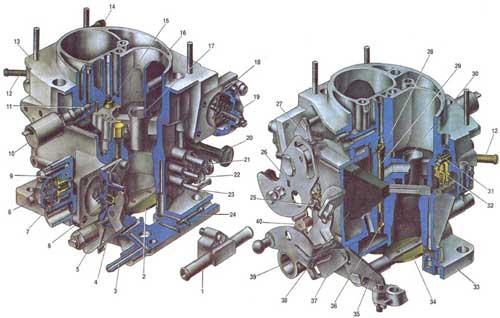 Карбюратор модели 21073-